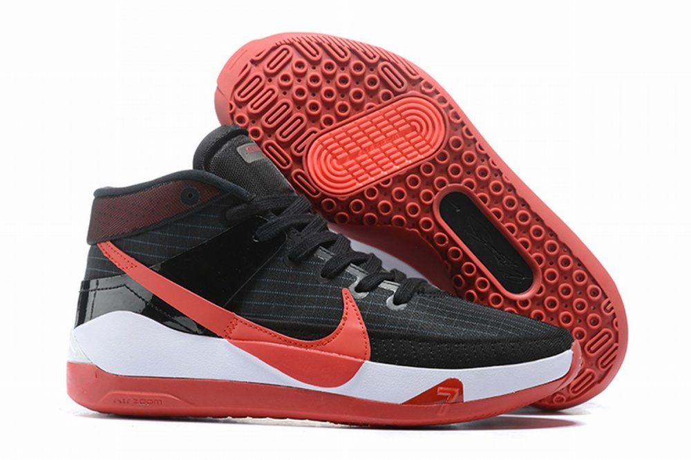 Nike KD 13 Shoes Black Red