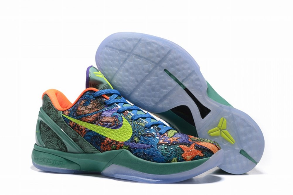 Nike Kobe 6 Men Shoes The Road to the Master