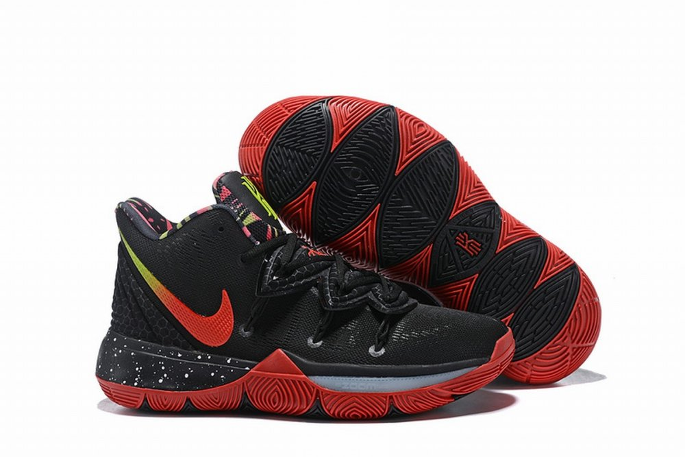 Nike Kyire 5 Black Red Camouflage-logo