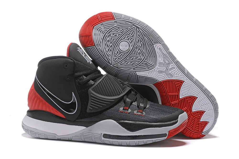 Nike Kyire 6 Black White Red