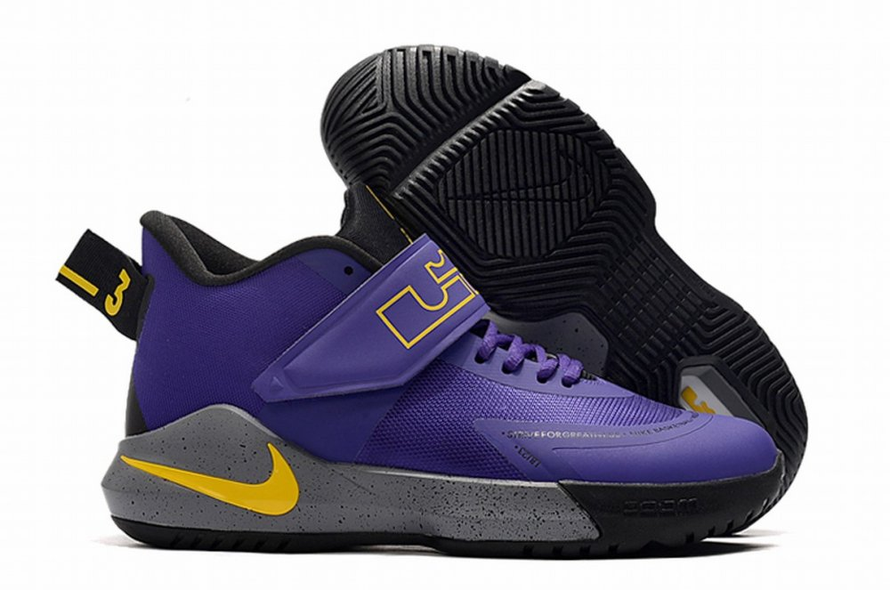 Nike Lebron James Ambassador 12 Shoes Lakers