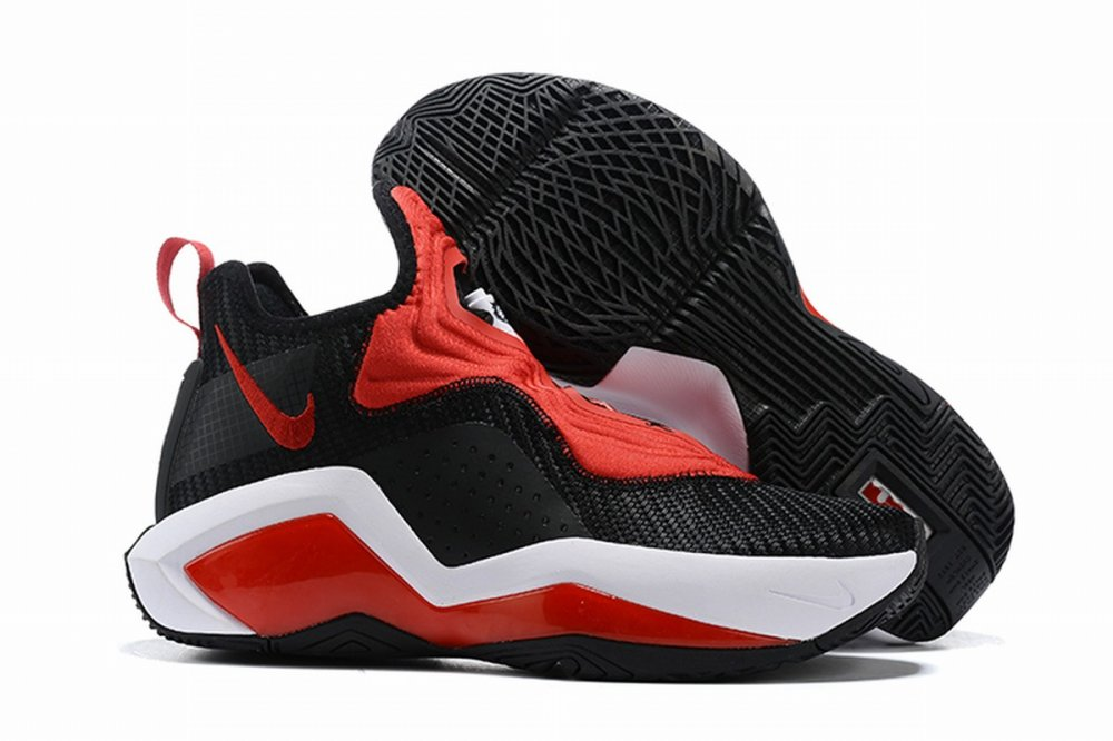 Nike Lebron James Soldier 14 Shoes Black Red