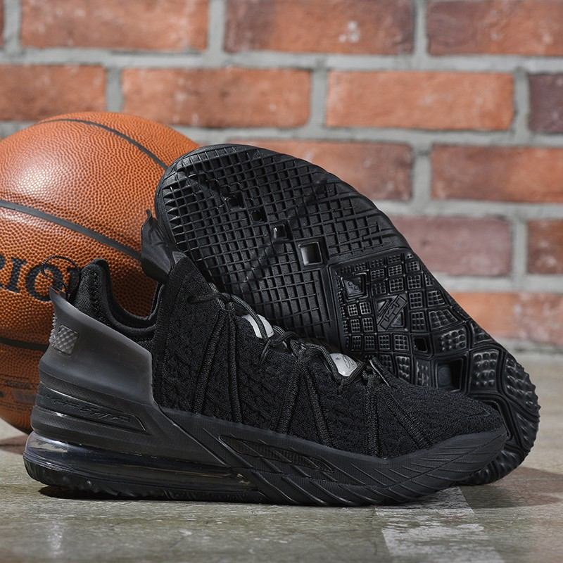 Nike Lebron James 18 Air Cushion Shoes All Black
